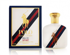 Polo Ralph Lauren Blue Sport Eau De Toilette Natural Spray Vaporisateur 75ml
