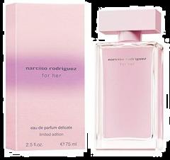 Narciso Rodriguez for Her Eau De Parfum Delicate Limited Edition 75ml
