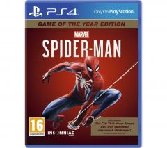 Marvel's Spider-Man PlayStation 4 Game Of The Year