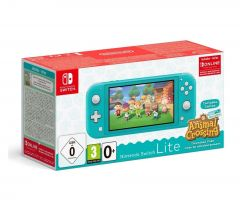 Nintendo Switch Lite Animal Crossing New Horizons Special Edition - Turquoise