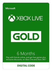 XBOX LIVE 6 Months Membership - Xbox Instant Digital Download - EU