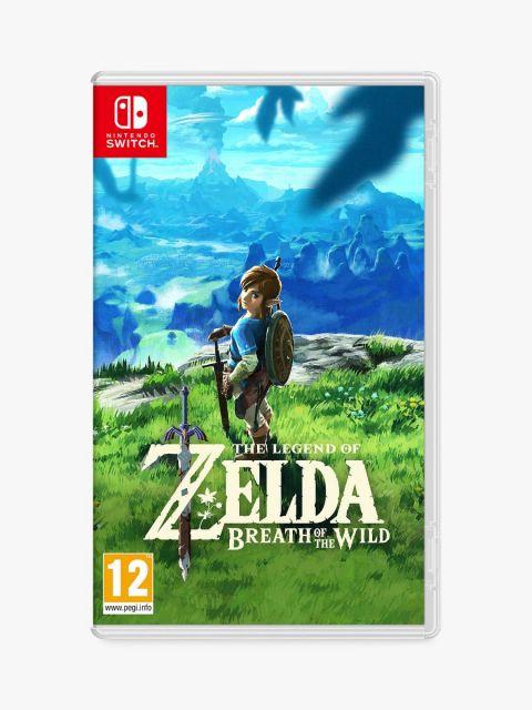 Nintendo The Legend of Zelda Breath of the world- Nintendo Switch Game