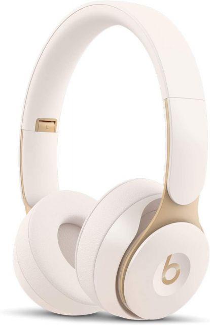 Beats by Dre Solo Pro Wireless Noise Cancelling On-Ear Headphones - Ivory