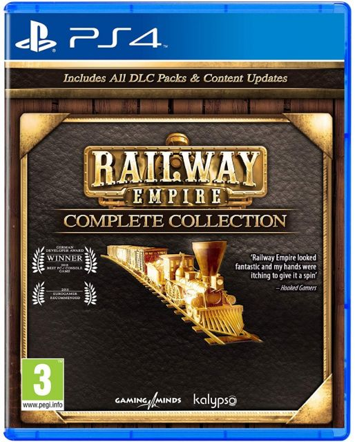 Railway Empire Complete Collection - PS4 Edition
