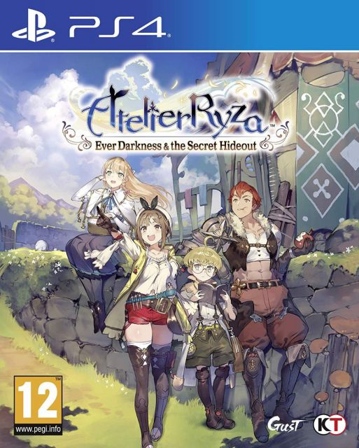 Atelier Ryza: Ever Darkness & the Secret Hideout - PS4 Standard Edition
