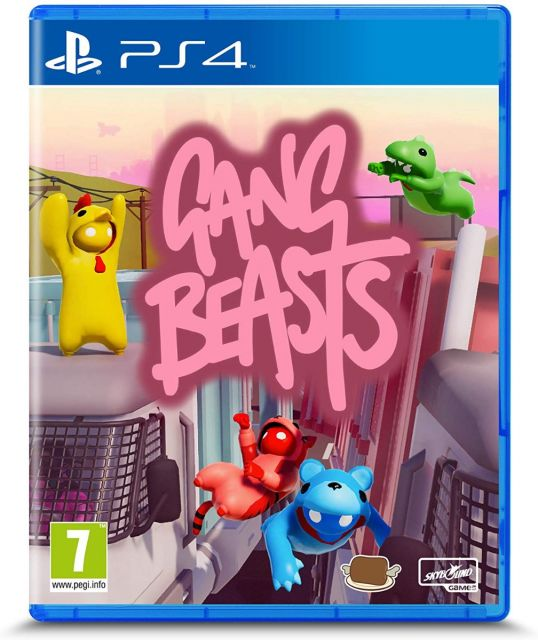 Gang Beasts - PS4 Standard Edition
