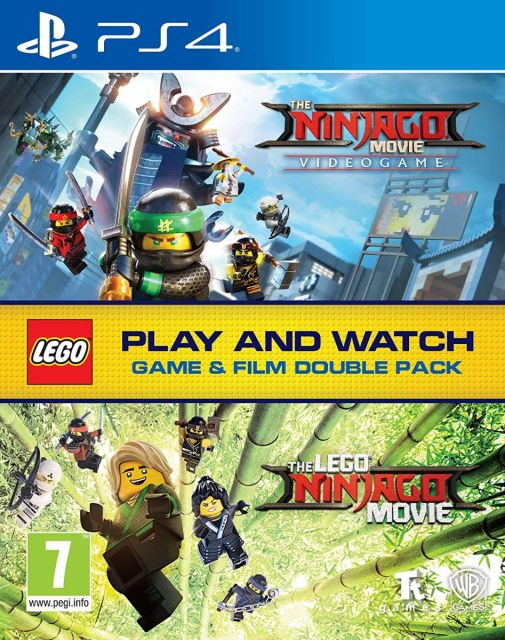 The Ninjago Movie Videogame Doublepack with Film - PS4