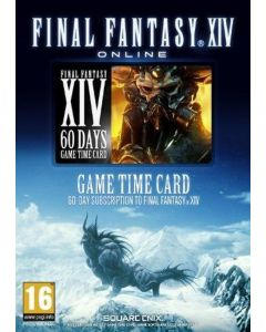 Final Fantasy XIV 60 Days Time Card - Digital Code
