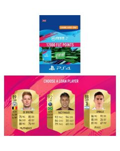 Fifa 19 Ultimate Team -12000 Fut Points & Free Loan Player - PS4 UK Digital Code