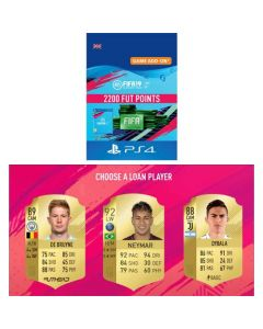 Fifa 19 Ultimate Team - 2200 Fut Points & Free Loan Player - PS4