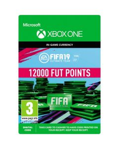 Fifa 19 Ultimate Team -12000 Fut Points & Free Loan Player -  Xbox One Digital Code