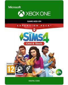 The Sims 4: Cats and Dogs Expansion Pack - Xbox One Digital Code
