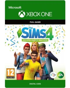 The Sims 4: Deluxe Party Edition - Xbox One Digital Code