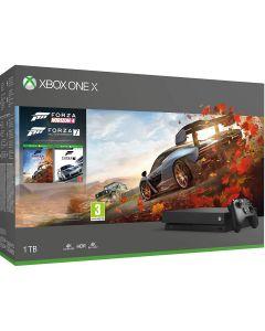 Xbox One X 1TB Black Console and Forza Horizon 4  Bundle