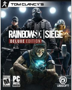 Tom Clancys Rainbow 6 Siege - PC Deluxe Edition - Digital Code