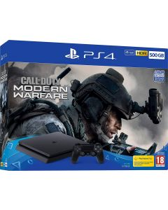 PS4 Console 500GB and Call of Duty Modern Warefare