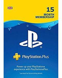 SONY PlayStation Plus 15 months membership Digital Code
