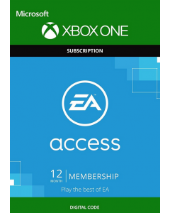 Xbox EA Access - 12 Months Membership- Digital Code
