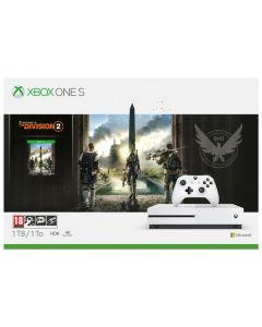 Xbox One S 1TB White Console and Tom Clancy's The Division 2  Bundle