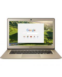 """ACER CB3-431 14"""" Full HD Chromebook -RAM: 4 GB / Storage: 32 GB eMMC - Gold"""