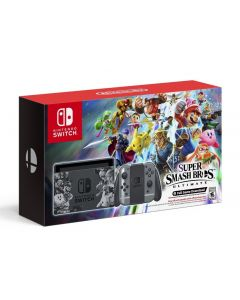 Nintendo Switch Grey Super Smash Bros. Ultimate Edition + Super Smash Bros. Download Code Console