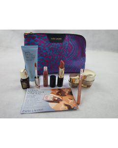 Estee Lauder 7 Pcs Gift Set Makeup Bag For All Skin Types