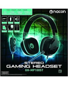 Nacon Headset GH-MP100ST Stereo Gaming Headset Multi Platform