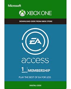 1 Month EA Access - Xbox One Instant Digital Download